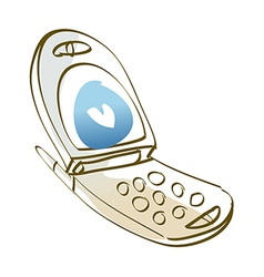 Icon Cell Phone vector