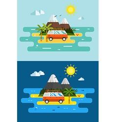 island2 vector image