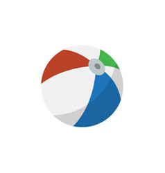 Isolated ball flat icon sphere element can vector