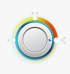 knob switch vector image