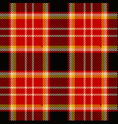 plaid fabric vector image