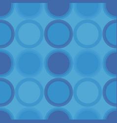 vintage circular pattern vector image