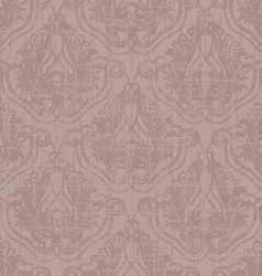 seamless vintage wallpaper vector image vector image