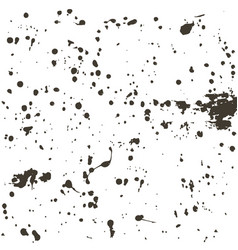 black blots grunge background vector image
