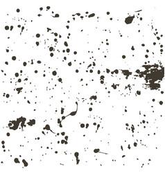 Black blots grunge background vector