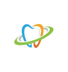 Dental logo template icon vector