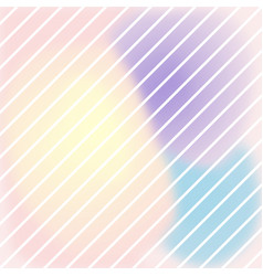 pastel colour abstract stripe background vector image