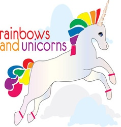 Rainbows and Unicorns vector