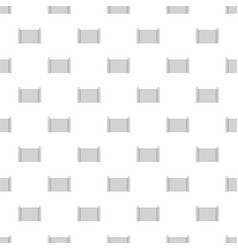 steel fenc pattern seamless vector image