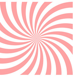 Sweet pink candy abstract spiral background vector