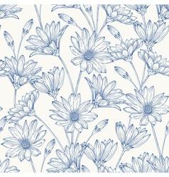 Beautiful vintage seamless pattern vector image