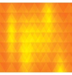 Orange pattern of geometric shape Colorful mosaic vector image vector image