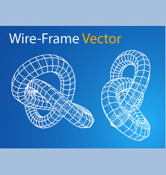 technology concept torus vector image
