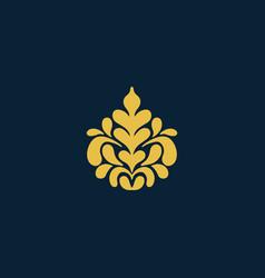 arabic vintage decorative design element vector image vector image
