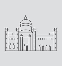 Bandar Seri Begawan vector image