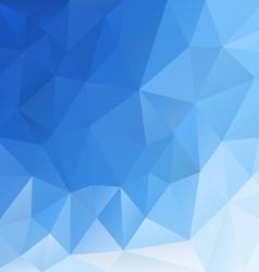 Blue sky triangular background vector