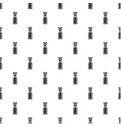 chemical glass bottle pattern seamless vector image