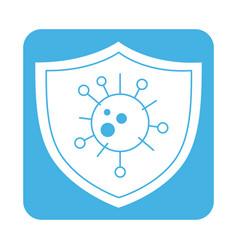 Covid 19 coronavirus prevention shield pathogen vector