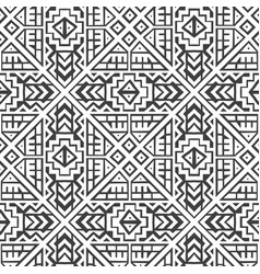 Creative geometric seamless pattern vector