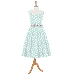 Dress on mannequin vector image