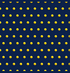 Gold dots on blue color abstract background vector