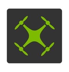 Quadcopter icon vector