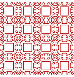 seamless ornamental pattern vector image