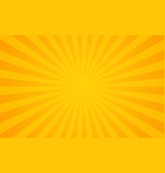 sun rays retro sunburst background vector image