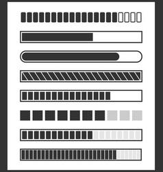 loading bar vector image vector image