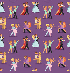 couples dancing romantic person people dance man vector image vector image