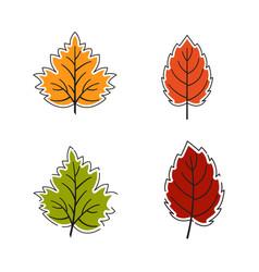 Autumn element icon design vector