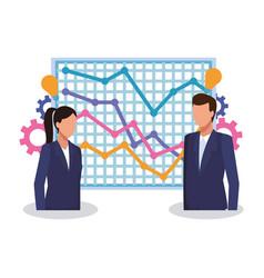 Business people meeting vector