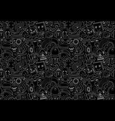 cool modern seamless pattern vector image