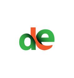 de logo template design vector image