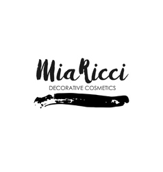 Decorative Cosmetics Shop design logo template vector
