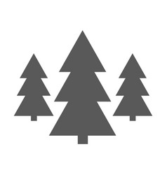 forest icon simple vector image