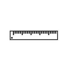 ruler icon graphic design template isolated vector image