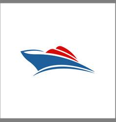 sailboat logo sailing logo design icons yacth vector image