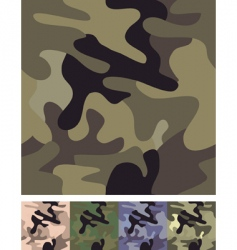seamless camouflage background vector image