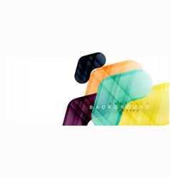 shiny glossy arrows background vector image