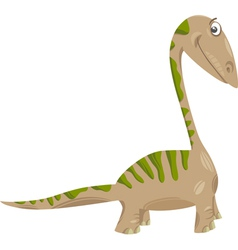 Apatosaurus dinosaur cartoon vector