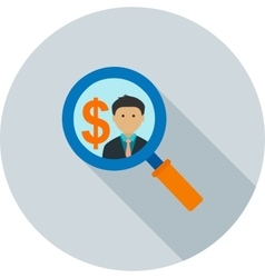 Find Investors vector