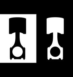 piston icons vector image