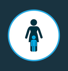 relations icon colored symbol premium quality vector image