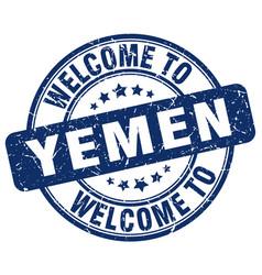 Welcome to yemen vector