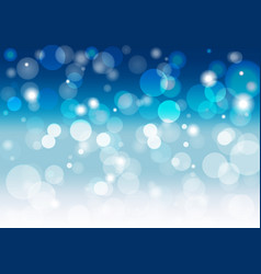 abstract soft blue background with a blur lights vector image