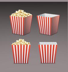 Bag of popcorn vector