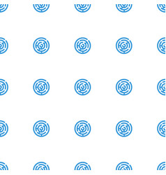 labyrinth icon pattern seamless white background vector image