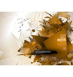 Modern poligonal background for brochure and vector