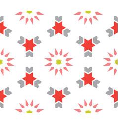 moroccan islamic style geometric tile pattern vector image